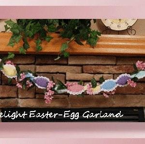 Spring Delight Easter-Egg Garland