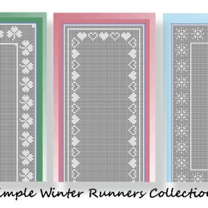 Simple Winter Runners Collection