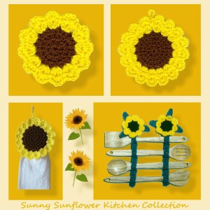 Sunny Sunflower Kitchen Collection