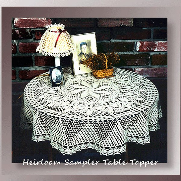 Heirloom Sampler Table Topper