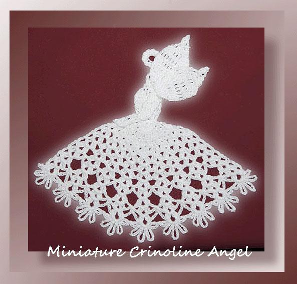 Miniature Crinoline Angel