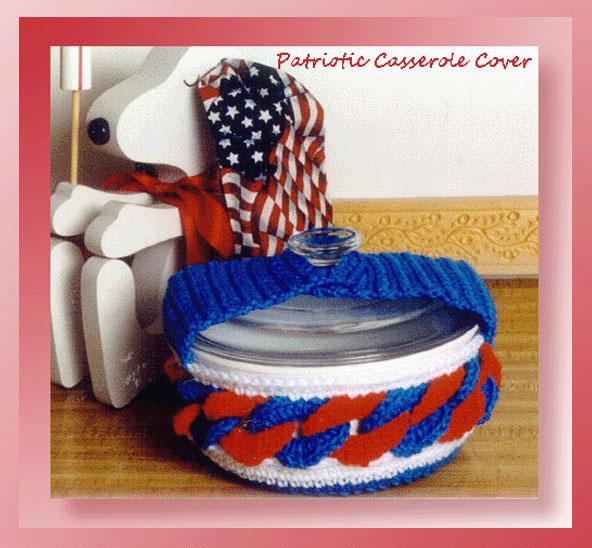 Patriotic Casserole Cover
