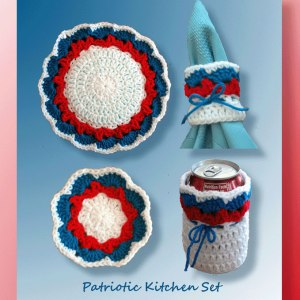 Patriotic Kitchen Set
