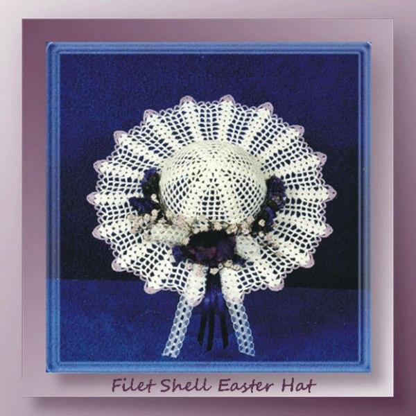 Filet Shell Easter Hat