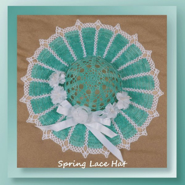 Spring Lace Decorative Hat
