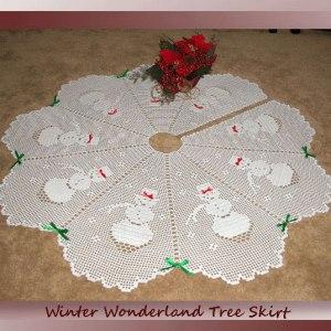 Winter Wonderland Tree Skirt