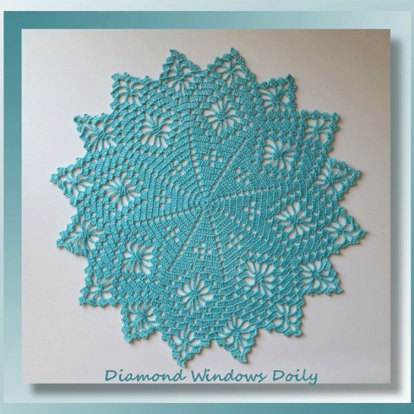 Diamond Windows Doily