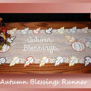 Autumn Blessings Runner