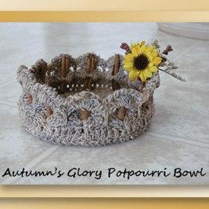 Autumn's Glory Potpourri Bowl