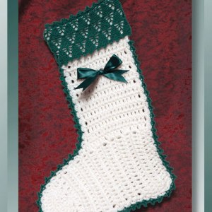 Christmas Tree Farm Stocking