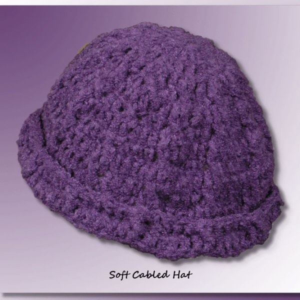 Soft Cabled Scarf & Hat Collection (Hat)