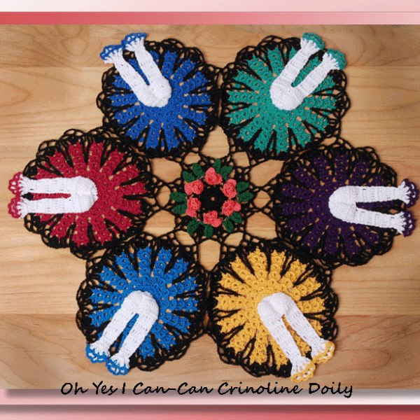 Oh Yes I Can-Can Crinoline Doily