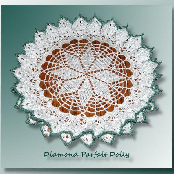 Diamond Parfait Doily