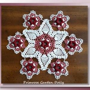 Primrose Garden Doily
