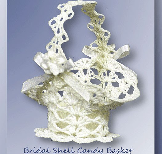 Bridal Shell Candy Basket   <br /><br /><font color=
