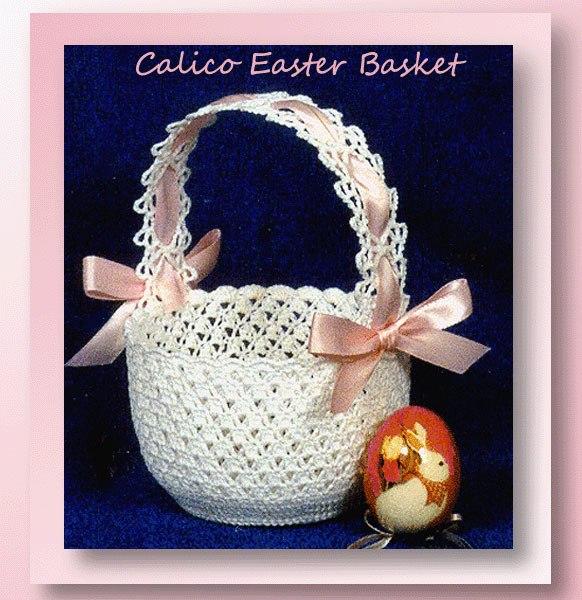 Calico Easter Basket
