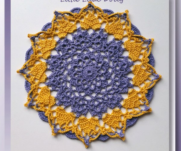 Little Lilac Doily    <br /><br /><font color=