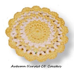 Autumn Harvest CD Coasters