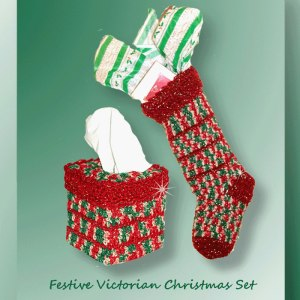 Festive Victorian Christmas Set