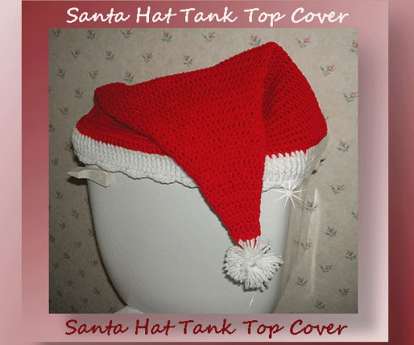 Santa Hat Tank Top Cover <br /><br /><font color=