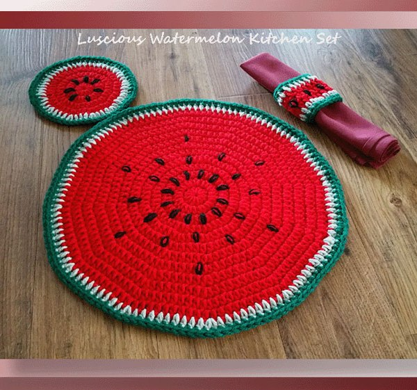 Luscious Watermelon Kitchen Set