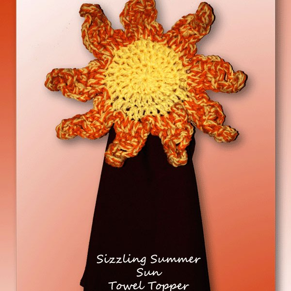 Sizzling Summer Sun Towel Topper