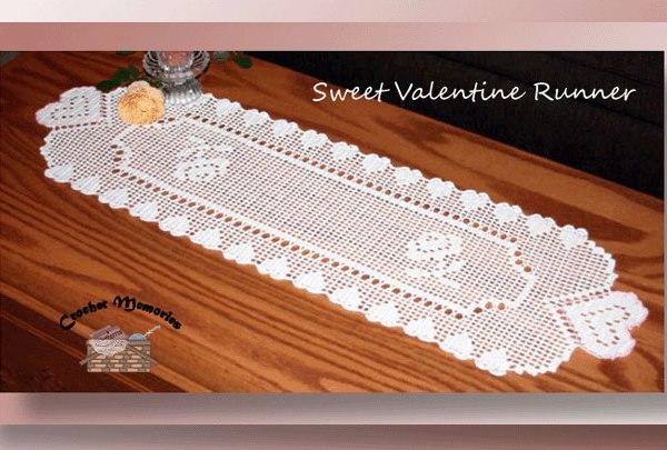 Sweet Valentine Runner <br /><font color=