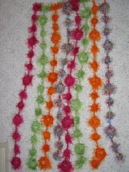 Fun Fur Door Curtain Free Crochet Pattern