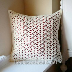 Fancy Chair Covers Counter Chairs Swivel Crochet Patterns Galore - Nina's Shell Pillow