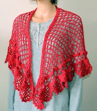 Crochet Patterns Galore - Spanish Holiday Shawl