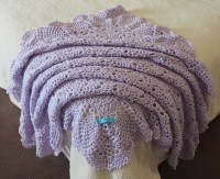 Crochet Patterns For Baby Shawls ~ Dancox for