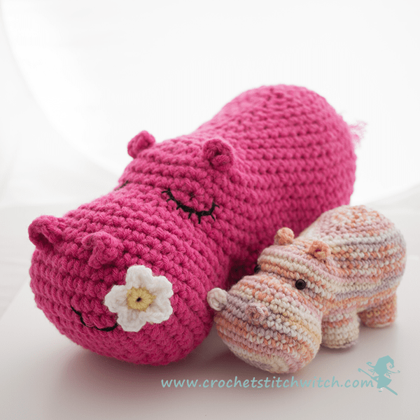 Baby Knitting Patterns Hippo Amigurumi Free Crochet Pattern ... | 600x600