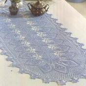 Caminos de mesa tejidos a crochet2
