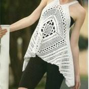 Remeras a crochet patrones