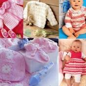 Prendas crochet para bebe con esquema