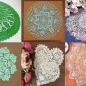 Tapetes crochet de lujo con esquemas