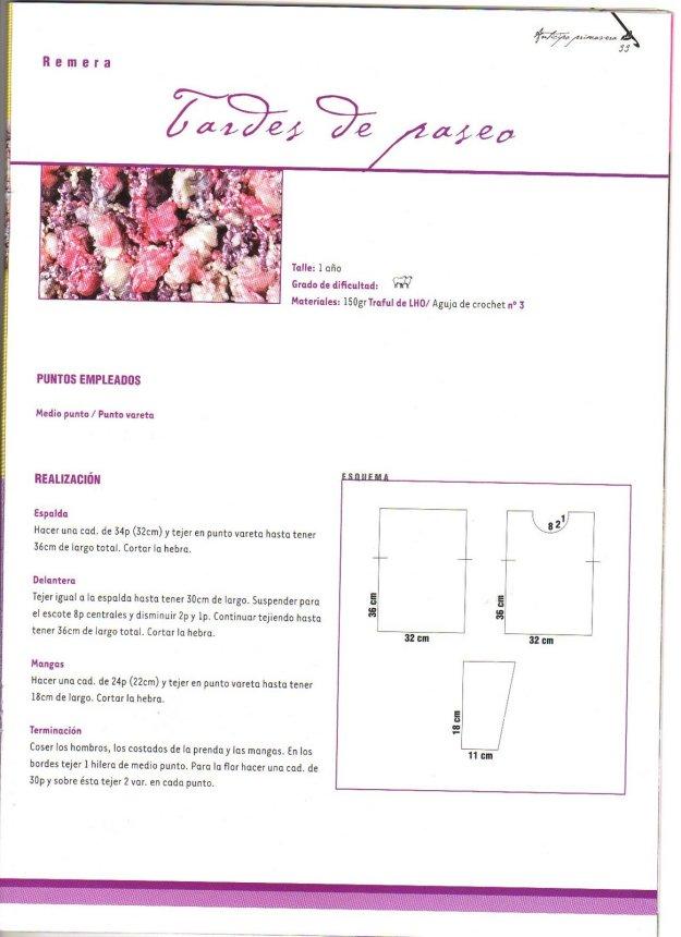 Revista ganchillo Bárbara hoy patrones gratis - Crochet y Ganchillo