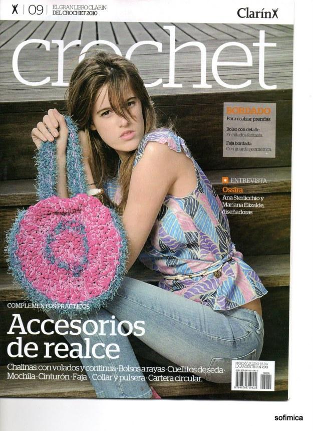 Revista a crochet Clarín patrones gratis