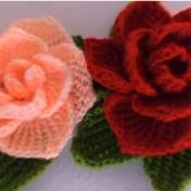 Flores crochet tunecino paso a paso