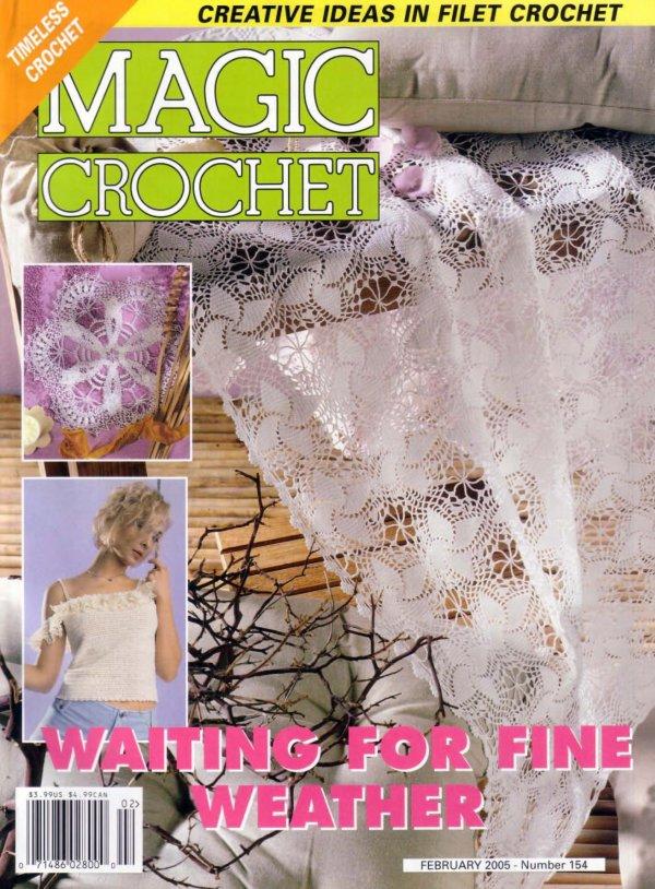 Revista Magic Crochet gratis