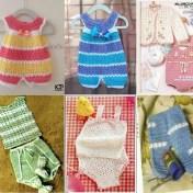 Patrones Ropa de bebe en crochet gratis