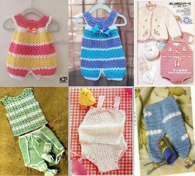 Patrones Ropa de bebe en crochet gratis - Crochet y Ganchillo
