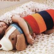 Almohadones al crochet