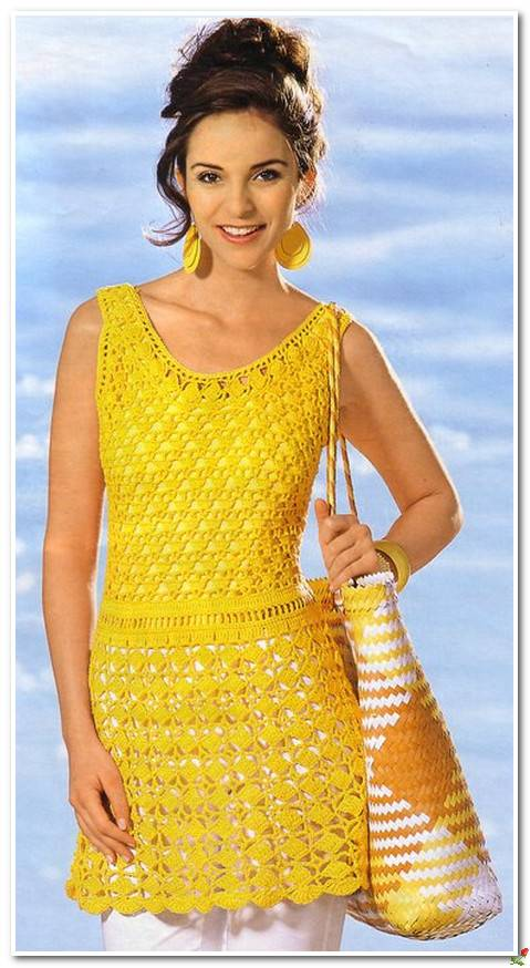 Blusa a crochet para mujer