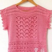 Blusas de crochet modernas