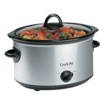 Crock Pot 4qt Oval Manual Slow Cooker Stainless Scv400ss Cn Crock Pot Canada