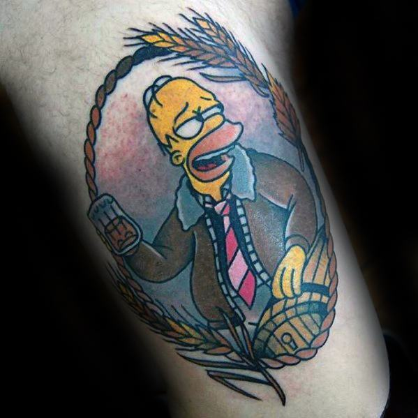 Tatouage Simpsons