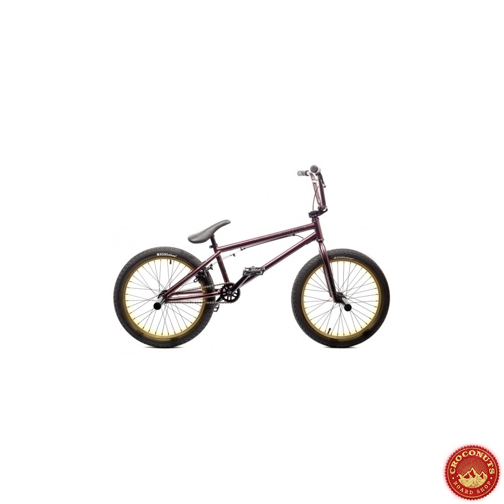 -15% sur Bmx KHE Root 20.75 Dark Purple : Bike pas cher