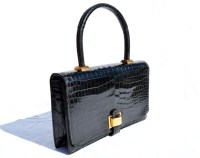 Vintage Hermes Crocodile Bag