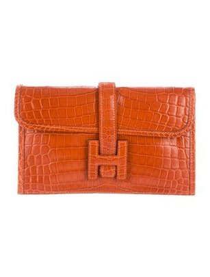 Crocodile Mini Clutch Bag